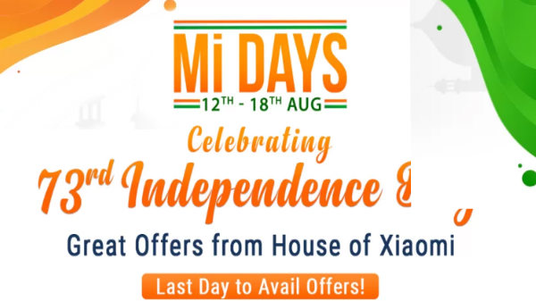 Flipkart Mi Days Sale (Aug 12 - 18) – Irresistible Offers On Mi Phones