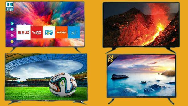 Flipkart National Shopping Days Sale On TVs