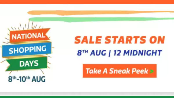 Flipkart National Shopping Days – Avail Up To 80% Off On Gadgets