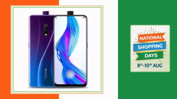 Flipkart Realme Independence Day Sale – Realme Smartphones On Discount