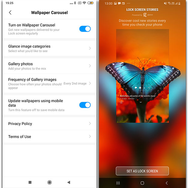 Glance Lockscreen App Changes The Way You Use Your Smartphone