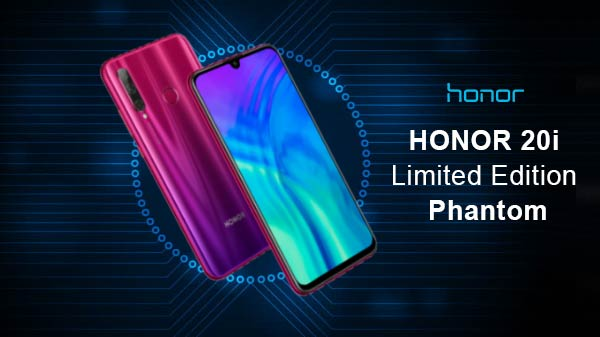 Honor 20i Phantom Red Sale Today On Flipkart And Amazon— Price & Offer