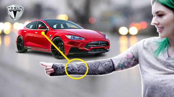 Woman Bio-Hacks Her Arm; Turns It Into Tesla Car Key
