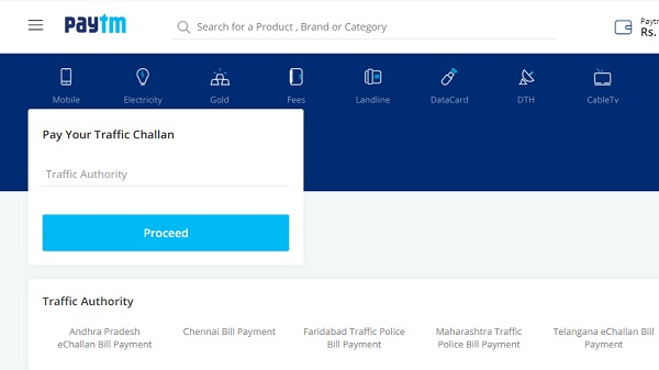 How to Check And Pay Traffic Challan Online