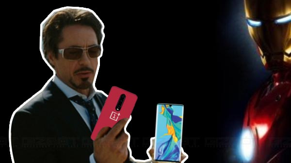 Robert Downey Jr OnePlus Brand Ambassador Reacts To Huawei Controversy