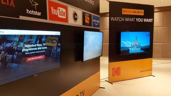 Super Plastronics Launches Kodak 4K Smart TVs