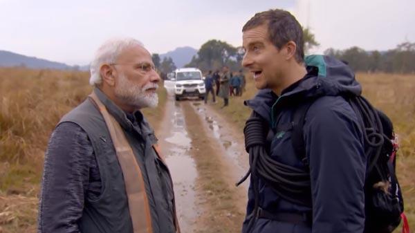 Watch Man Vs Wild Featuring PM Narendra Modi Tonight At 9 PM