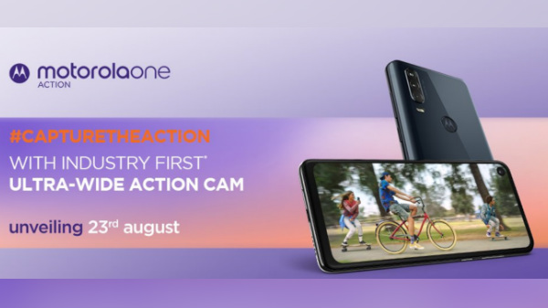 Motorola One Action To Launch On August 23 Via Flipkart In India