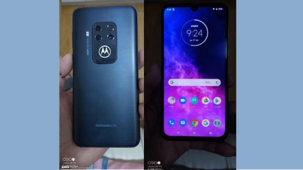 Motorola One Zoom Live Images Show Quad Rear Cameras
