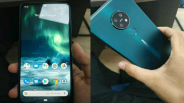 Nokia 7.2 Live Images Leak – Triple Rear Cameras Expected