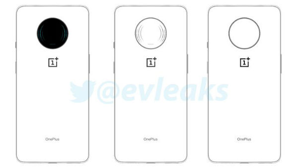 OnePlus 7T Pro Leaked Sketches Show Circular Camera Module