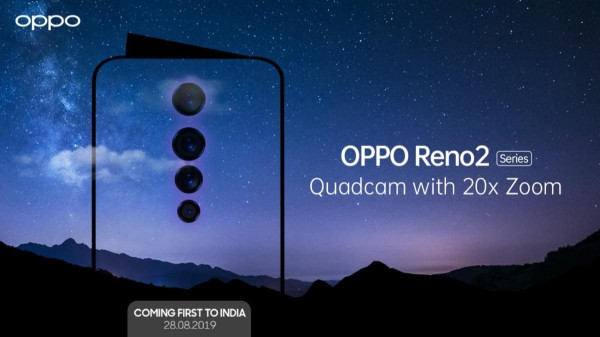Oppo Reno 2 Key Hardware And Colors Confirmed Ahead Of Official Launch