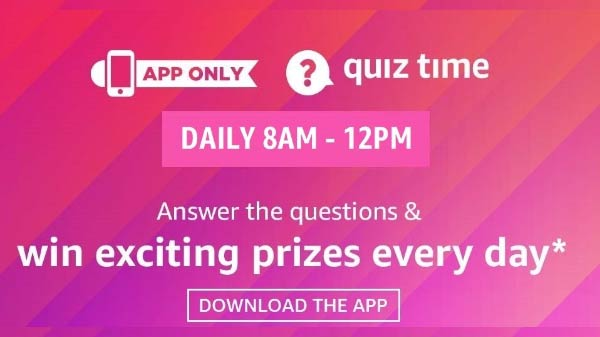 Amazon App Quiz Is Back With Rs 5,000 Reward - How To Participate