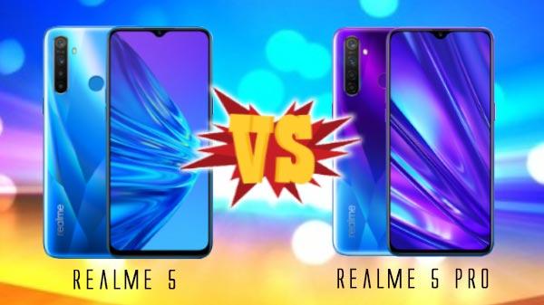 Realme 5 Pro Vs Realme 5: What Are The Key Differences