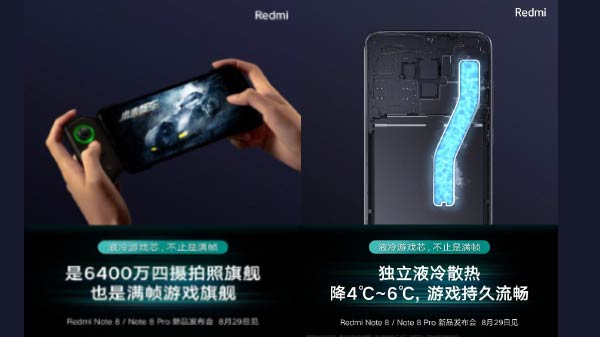 Redmi Note 8 Pro To Feature Gaming Accessories Like Black Shark 2