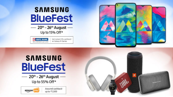 Samsung Blue Fest Offers – Get Discounts On Smartphones, TVs And More