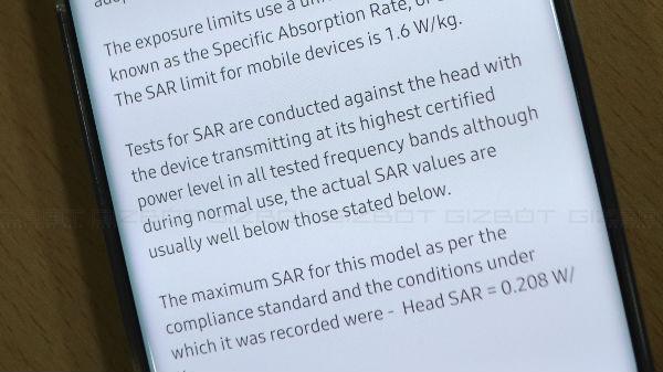 Samsung Galaxy Note 10+ Has Amazingly Low SAR Value