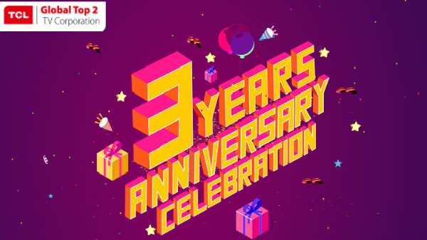 TCL Celebrates 3rd Anniversary In India – Offers Lucrative Discounts