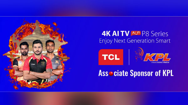 TCL Is Now The Associate Sponsor For Karnataka Premier League 2019