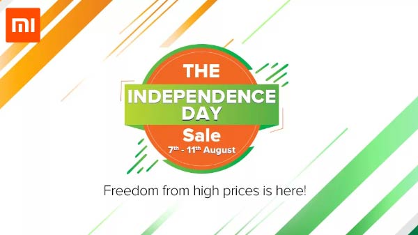 Xiaomi Independence Day Sale 2019 – Best Deals And Offers