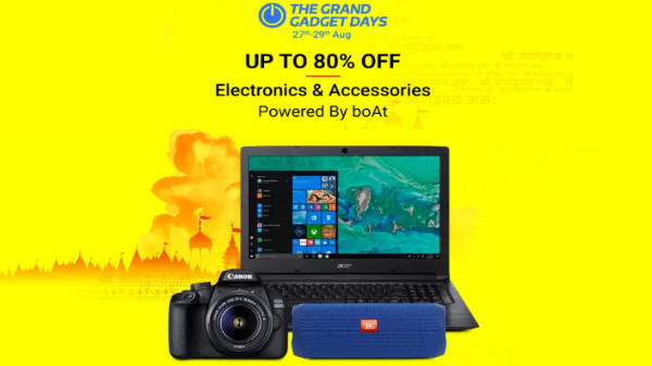 Flipkart Grand Gadget Days: Offers On Laptops, Smart Wearable And More