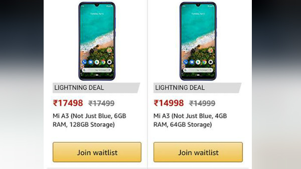Xiaomi Mi A3 Price Leaked