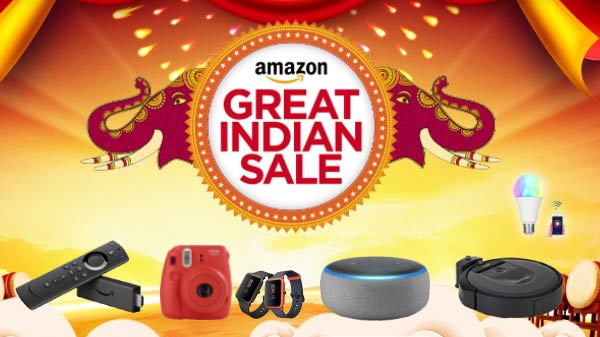 Amazon Great Indian Festival Sale 2019: Here Are The Best Gadgets List
