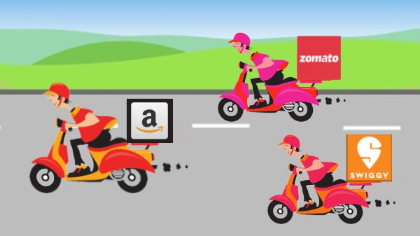 Amazon Food Delivery Service Set To Launch In India