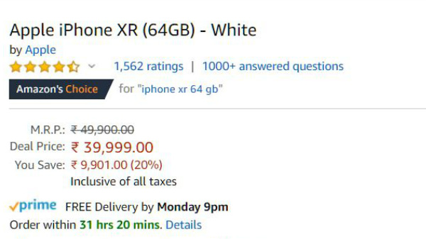Apple iPhone XR Now Available For Rs. 37,999: Should You Buy One?