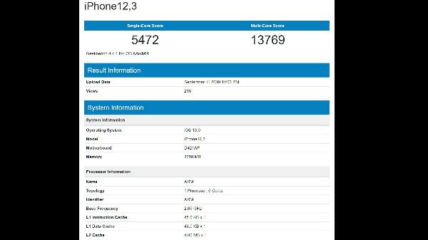 iPhone 11 Still Packs 4GB RAM; Yet Offers Blazing CPU Performance