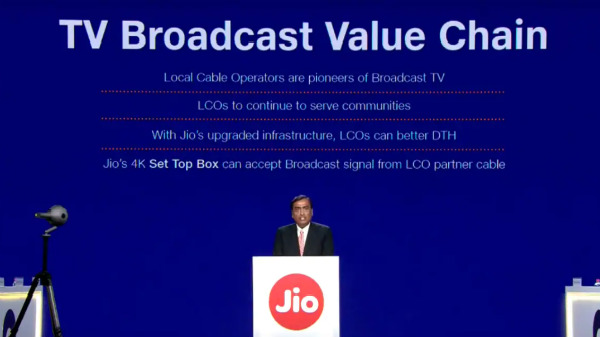Jio Fiber Set-Top Box Still Needs You To Pay Cable Operators