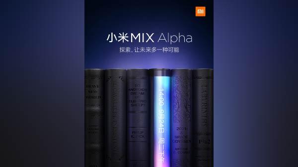 Xiaomi Mi Mix Alpha To Offer 100 percent Screen-To-Body Ratio