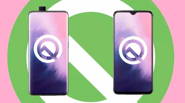 OnePlus 7 and OnePlus 7 Pro Receive Android 10 With Oxygen OS