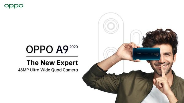 Oppo A9 (2020) With 48 MP Quad Rear Cameras To Launch Soon