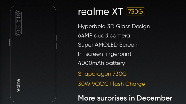 Realme XT Launch Highlights: 64MP Phone Costs Rs. 15,999