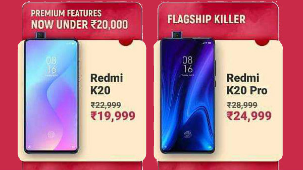 Redmi K20 Pro, Redmi K20 Receive Massive Price Cut