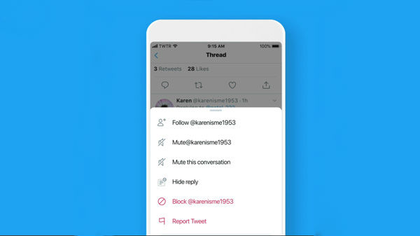 Twitter Introduces Hide Replies Feature