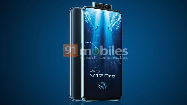 Vivo V17 Pro Confirmed To Sport Dual Pop-Up Selfie Camera Module