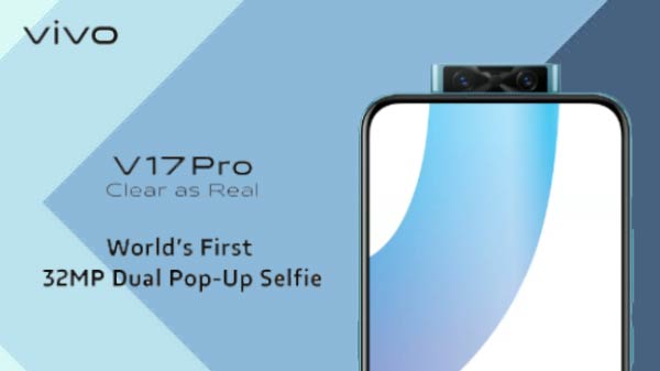 Vivo V17 Pro Up For Sale: Price, Specifications, And Launch Offers