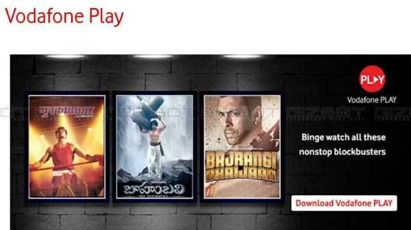 Vodafone Introduces Its Play Mobile Website In India