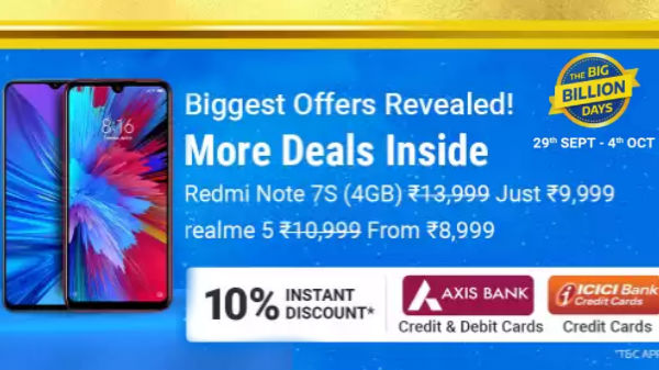 Flipkart Biggest Offers Of The Season: Discounts Offers On Smartphones