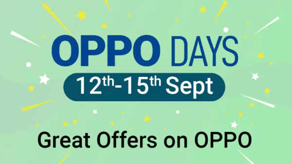 Flipkart Oppo Days Sale: Great Offers On OPPO Smartphone