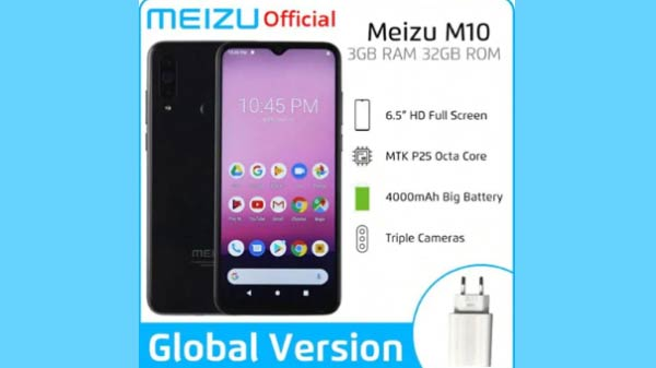 Meizu M10 Smartphone Specifications Leaked: Pricing And Colors