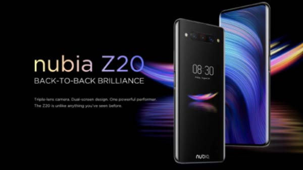 Nubia Z20 With Dual-Display, SD 855 Plus, And More Now Available Globally