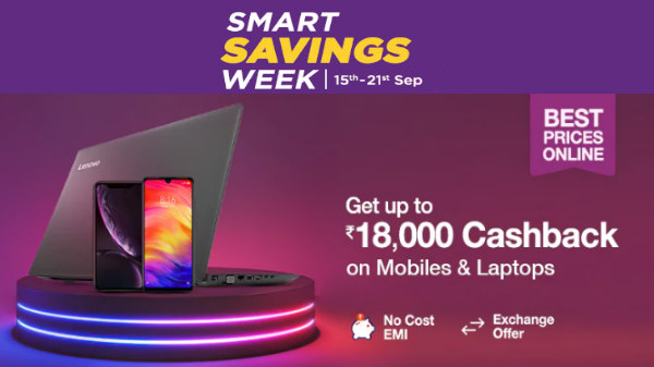 Paytm Mall Smart Savings Week Offers: Buy Smartphones With Attractive Cashback