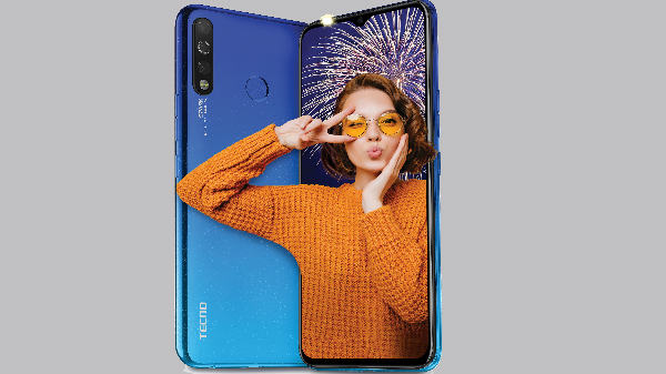 Tecno Spark 4 With Triple-Rear Cameras Announced Starting At Rs. 7,999