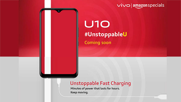 Vivo To Soon Launch U10 Smartphone With Waterdrop Notch And More