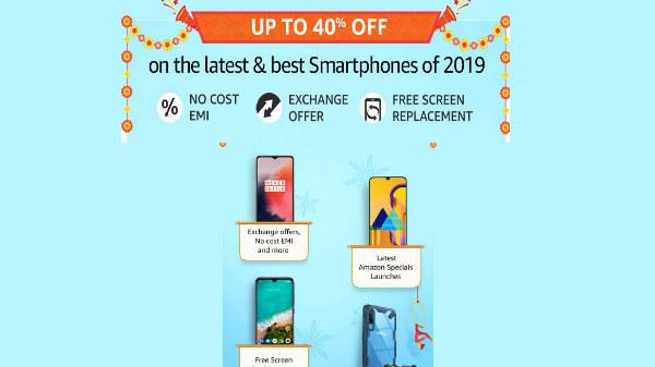 Amazon Great Indian Festival Sale: Smartphones On Discount
