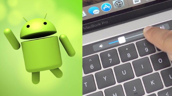 Like Macbook Lite Touch Bar? How To Get It On Android