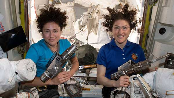 Astronauts Christina Koch, Jessica Meir Completed First All-Woman Spacewalk